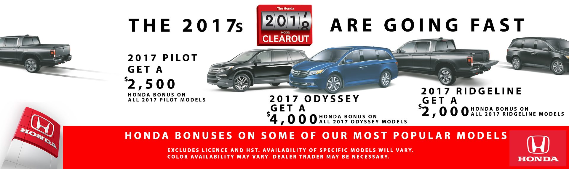 2017 Honda Trucks