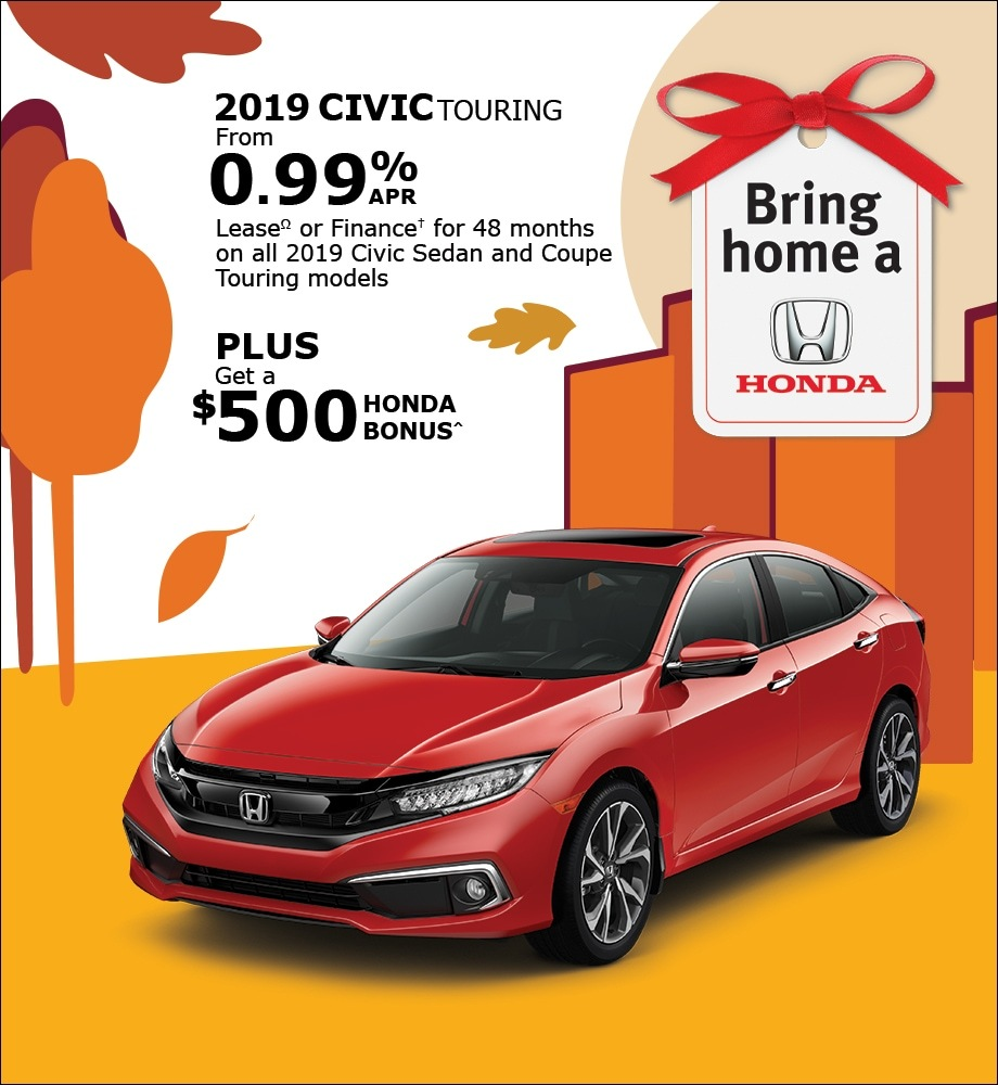 Take the 2019 Civic Home Today