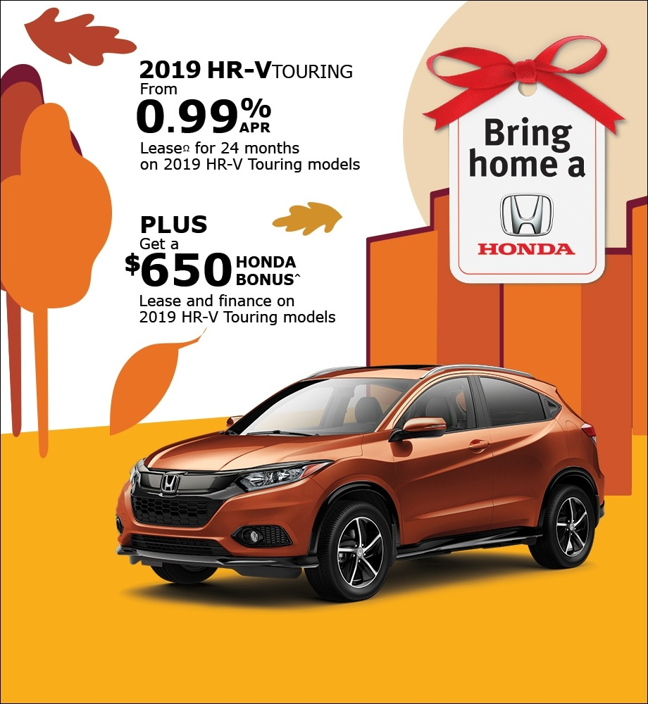 Lease the 2019 HR-V